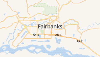 Fairbanks online kaart