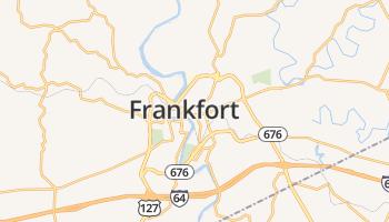 Frankfort online kaart
