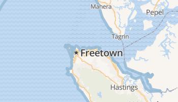 Freetown online kaart