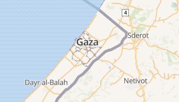 Gaza online kaart