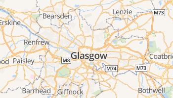 Glasgow online kaart