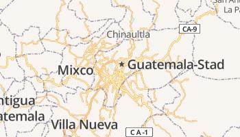 Guatemala-stad online kaart