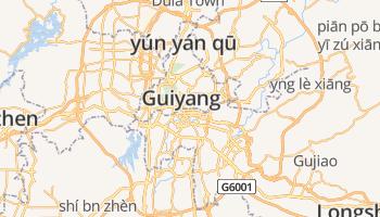 Guiyang online kaart