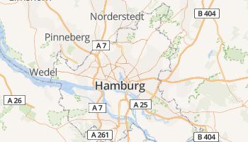 Hamburg online kaart