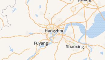 Hangzhou online kaart