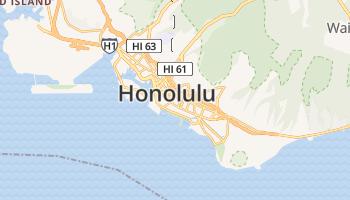 Honolulu online kaart