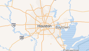 Houston online kaart