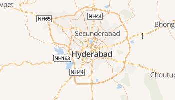 Haiderabad online kaart