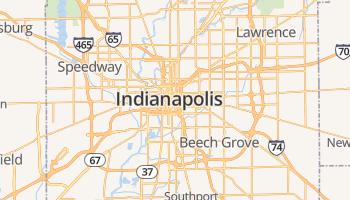 Indianapolis online kaart