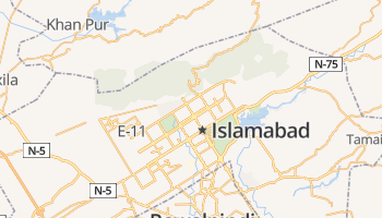 Islamabad online kaart