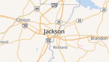 Jackson online kaart