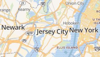 Jersey City online kaart