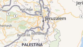 Jeruzalem online kaart