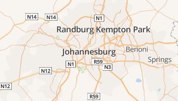 Johannesburg online kaart