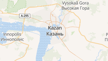 Kazan online kaart