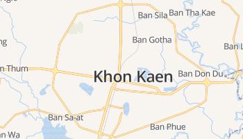 Khon Kaen online kaart