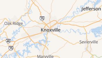 Knoxville online kaart