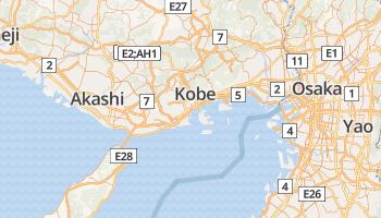 Kobe online kaart