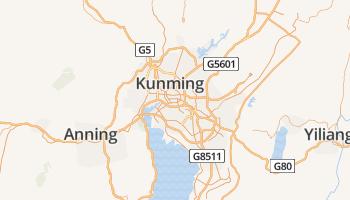Kunming online kaart