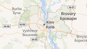 Kiev online kaart
