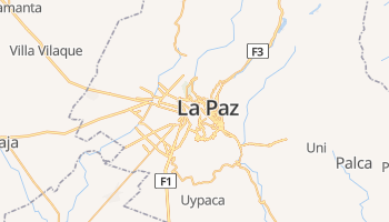 La Paz online kaart
