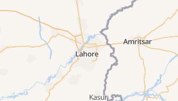 Lahore online kaart