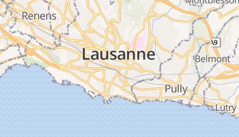 Lausanne online kaart