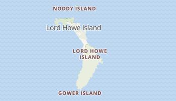 Lord Howe-eiland online kaart