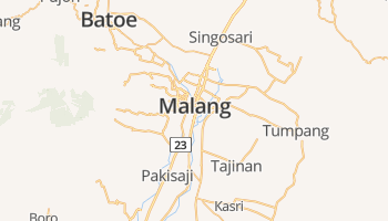 Malang online kaart