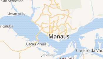 Manaus online kaart