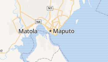 Maputo online kaart