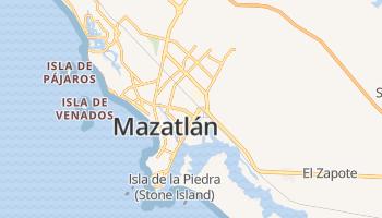 Mazatlán online kaart