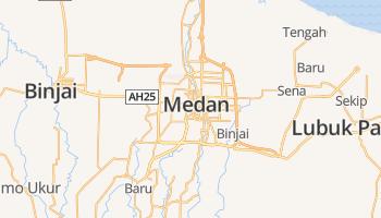 Medan online kaart