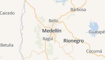 Medellín online kaart