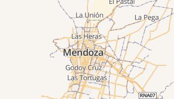 Mendoza online kaart