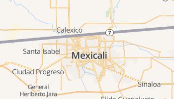 Mexicali online kaart