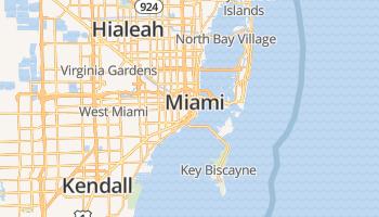Miami online kaart