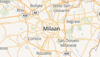 Milaan online kaart