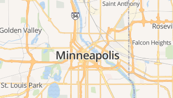 Minneapolis online kaart