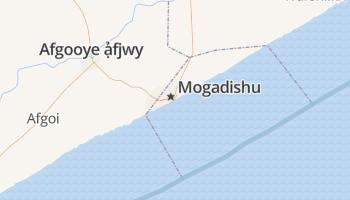 Mogadishu online kaart