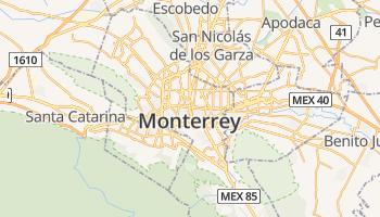 Monterrey online kaart