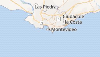 Montevideo online kaart