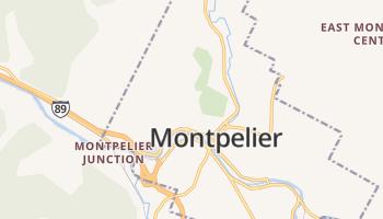 Montpelier online kaart