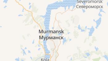 Moermansk online kaart