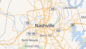 Nashville online kaart