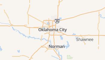 Oklahoma City online kaart