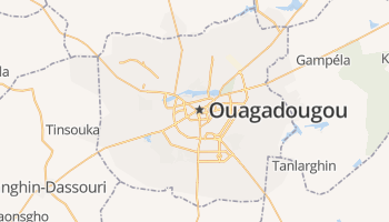 Ouagadougou online kaart