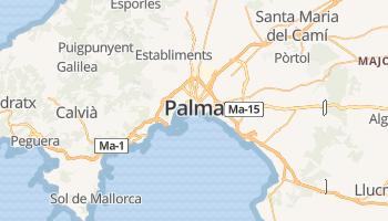 Palma de Mallorca online kaart