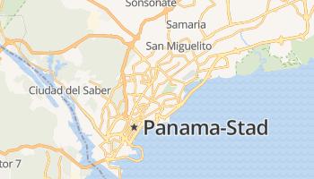 Panama-stad online kaart