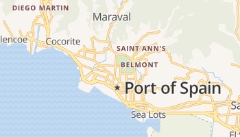 Port of Spain online kaart